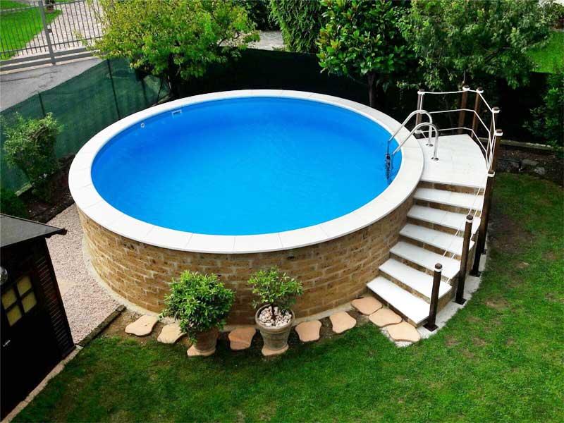 Piscine autoportanti franzoni piscine brescia - Piscine fuori terra autoportanti ...